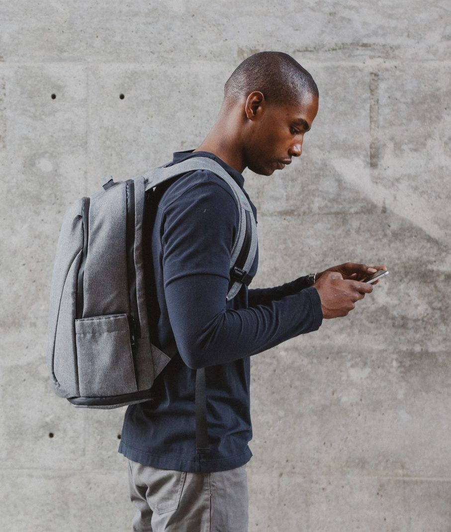 79ca60d833 ARES Backpack Gray