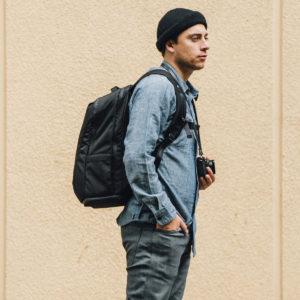 Black Packpack